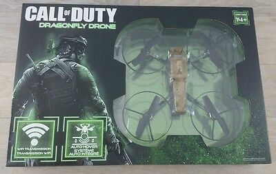 Stamp NEW Call Of Duty Dragonfly Quadcopter Drone with Wifi Camera