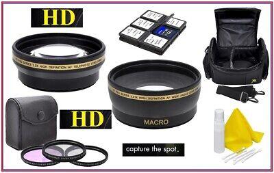 Alta Definición Super Ahorro Pack de Accesorios Para Canon EOS M200