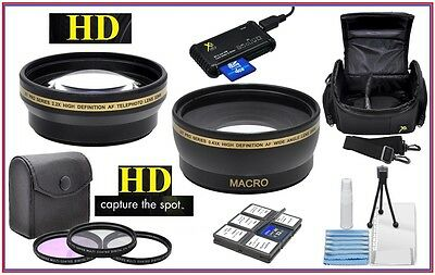 Alta Def Super Ahorro Pack de Accesorios Para Canon EOS M50 M6