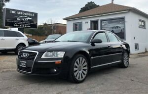 2007 Audi A8 AWD NAVI BACK-UP CAM NO ACCIDENT LEATHER SUNROOF