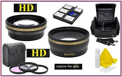 Super Saving Hi Definition Accessory Package For Canon EOS Rebel T8i 90D