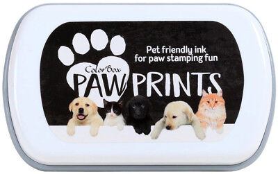 Colorbox Paw Prints Ink Pad With Pet Friendly Ink For Personalized Paw Art (Friendly Inks)