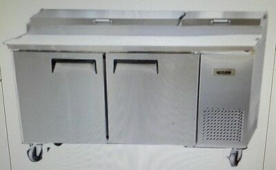 Bison Bpt-67 67 Refrigerated Pizza Prep Table