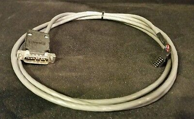 Hp Agilent 5890 Gc Remote Start Stop 03396-60550 Cable 7673 Gas Chromatograph