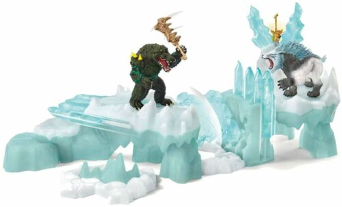 <>< Attack on Ice Fortress  42497  Schleich  Stunning  Eldrador strong tough