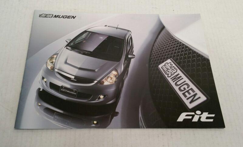 2006 Mugen Power Honda Fit Catalog Brochure GD Jazz Japan HTF
