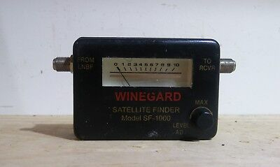 Winegard Satellite Finder SF1000 Tool Part Vintage Gauge/Display 656028