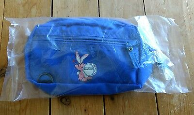 Vintage Energizer Bunny Battery Blue Pink Cartoon Nylon Fanny Fannie Pack Promo](Energizer Bunny)