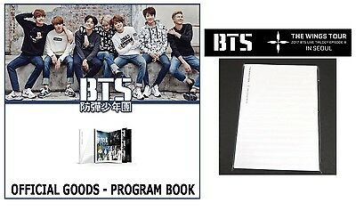 BTS Bangtan Boys THE WINGS TOUR Official PROGRAM BOOK LIVE TRILOGY Episode Ⅲ