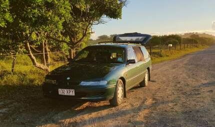 Low km Commodore station wagon