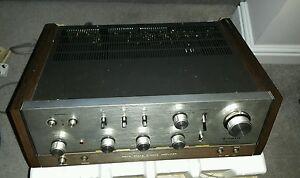 V. Rare TRIO KA-6004 solid state stereo amplifier