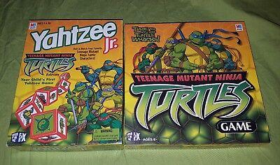 Teenage Mutant Ninja Turtles TMNT Yahtzee Jr Family Game Night Lot 2003 ](Ninja Turtle Family)