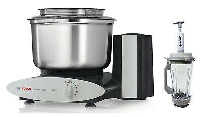 Bosch Black Universal Plus 800W 6.5 Qt Kitchen Mixer Machine w/ Vacuum -