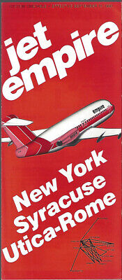 Empire Airlines system timetable 9/15/80 [9084] Buy 2 Get 1 (Buy Aviators)