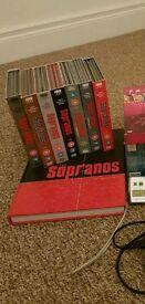 Complete Sopranos Dvd collection abd collectors book