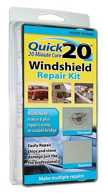 Quick 20 WINDSHIELD REPAIR KIT  (20 Minute Cure)-------brand new