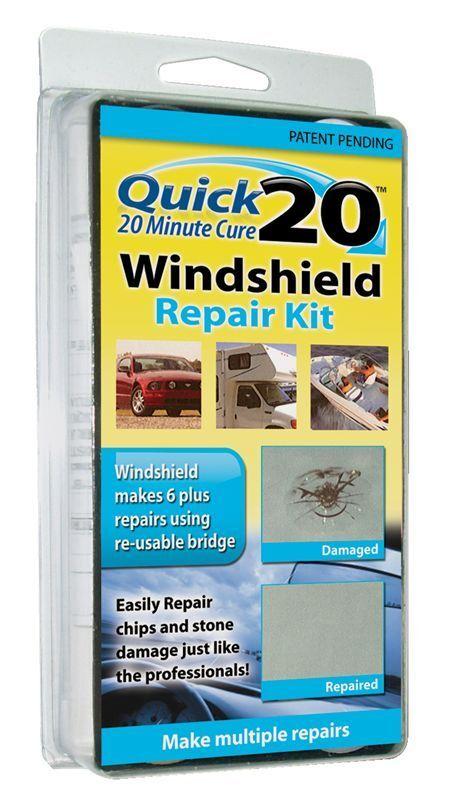 Quick 20 WINDSHIELD REPAIR KIT  -------brand new