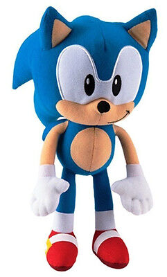 Sonic The Hedgehog 13  Plush Stuffed Collectors Edition Authentic Sega Kids Toy