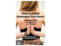 Weekly Yoga Classes Kennington Park Centre