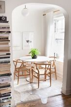 IKEA Round White Dining Table - DOCKSTA Westminster Stirling Area Preview