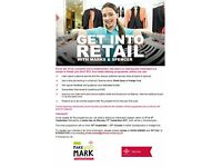 RETAIL COURSE & INVTERVIEW: Get Into Retail in partnership with M&S (September)