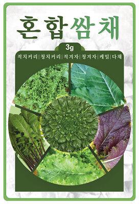 20g 열무 Korean Young Radish Seed Korean Kimch Vegetable Seed