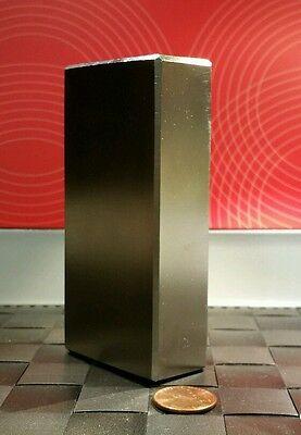 Huge Neodymium Block Magnet. Super Strong Rare Earth N52 4 X 2 X 1 Inch