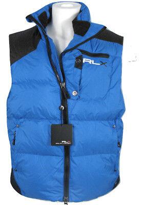 NEW! $248 RLX Ralph Lauren Down Puffer Vest!  L   *BLUE*