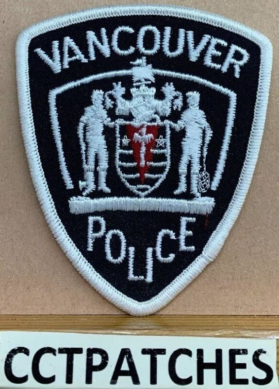 VANCOUVER, CANADA POLICE (SMALL) SHOULDER PATCH 2