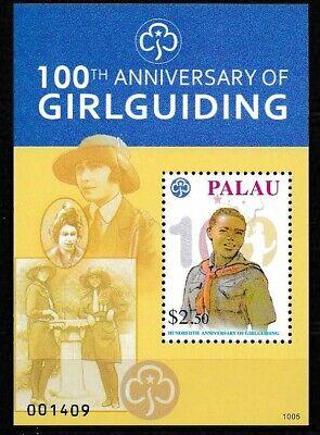 Palau 2010 Girl Guides 100th Ann MS SC# 1008 MNH Mint/Never Hinged