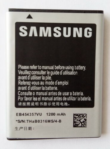 New Battery for Samsung Galaxy Y S5360   EB454357VU 1200mah Li ion Battery available at Ebay for Rs.245