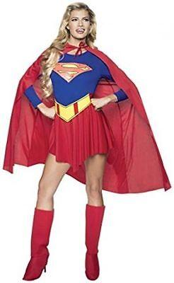 Supergirl Classic Adult - Supergirl Adult Kostüm