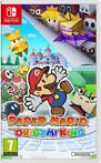 Paper Mario the Origami King + Peach Keychain (Nintendo S...