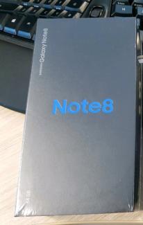Wanted: Samsung Galaxy Note 8 Black 64g Unlock