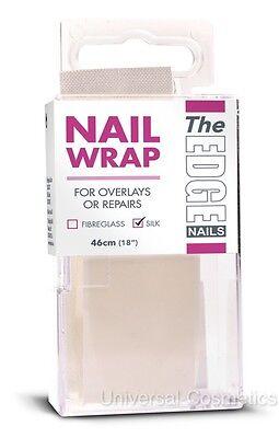 "The Edge Nail Wrap Strip Silk Overlays Repairs 46cm 18""- GENUINE"