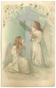 CPA- To Wish a Happy Easter - Postcards - France - État : Occasion: Objet ayant été utilisé. Consulter la description du vendeur pour avoir plus de détails sur les éventuelles imperfections. ... - France