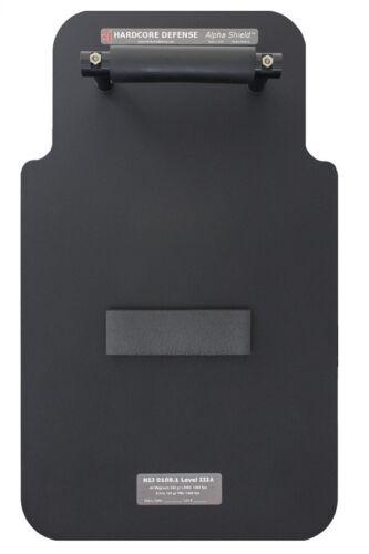 """Hardcore Defense Alpha Ballistic Shield - NIJ IIIA 15""""x25"""" 14 lbs"""