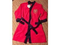 Boys Arsenal dressing gown
