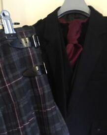 Heavy Weight Kilt ,Argyll Jacket & Waistcoat