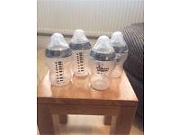 Unopened Tommee Tippee bottles