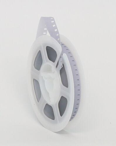 NEW KODAK 8mm Movie Film Leader 50 ft Reel - WHITE/CLEAR - MADE IN USA