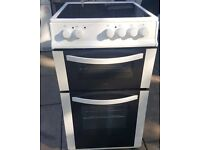 Logik White Electric cooker, Excellent con, 50 cm, Fully working. NO OFFERS