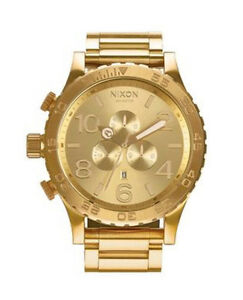 Nixon 51-30 Chrono Gold Watch (51mm) Cronulla Sutherland Area Preview