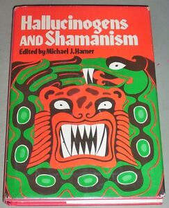 Signed-by-Michael-Harner-HALLUCINOGENS-amp-SHAMANISM-PSYCHEDELIC-AYAHUASCA-PEYOTE