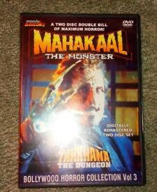 The Bollywood Horror Collection Volume 3 Mahakaal: The Monster / Tahkhana. Super Rare