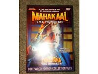The Bollywood Horror Collection Volume 3 Mahakaal: The Monster / Tahkhana. Super Rare