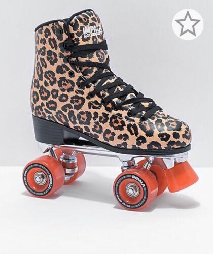 Impala Quad Roller Skates Leopard Size 7 Women's NEW