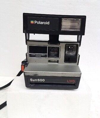 Vintage Polaroid Sun 600 LMS Light Management Instant Film Camera  Works