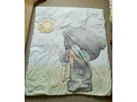 Tatty teddy cotbed duvet and bumper