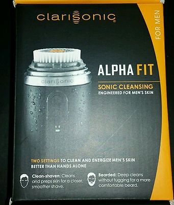 Clarisonic Men'S Alpha Fit Sonic Cleansing System New In Box Fast Shipper USA FL